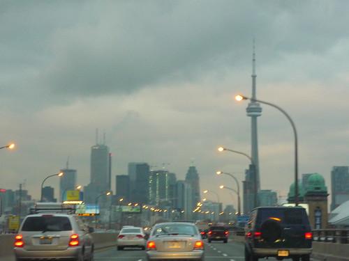 Toronto by dusk