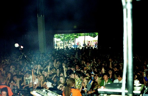 underage festival crowd