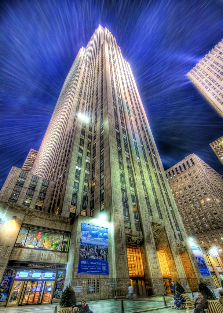 Another Smithsonian Winner, some upcoming appearances, and a new photo of Rockafeller center (by Stuck in Customs)
