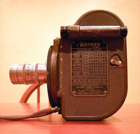 Revere Model 99 8mm Movie Camera