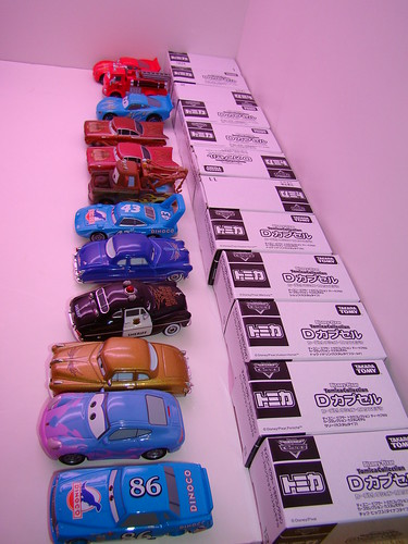 Tomica Disney Set group