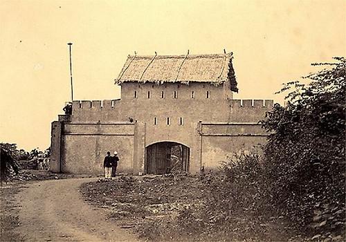 Citadelle blockhause Francaise pres du Grand Lac