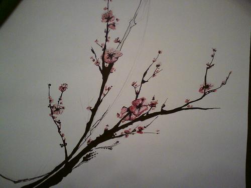 Phone upload test 2 - cherry blossom tattoo design