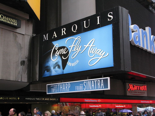 Come Fly Away on Broadway