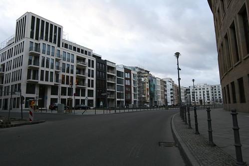 Townhouses in Berlin Mitte Germany