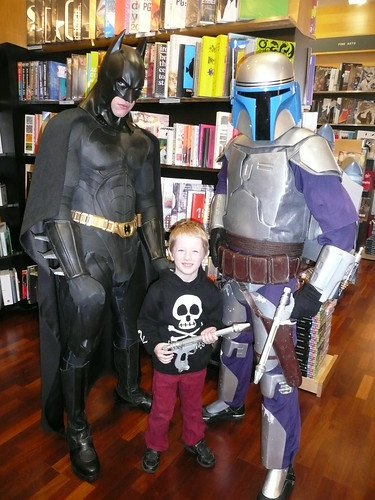Kai, Batman and Jango Fett by you.