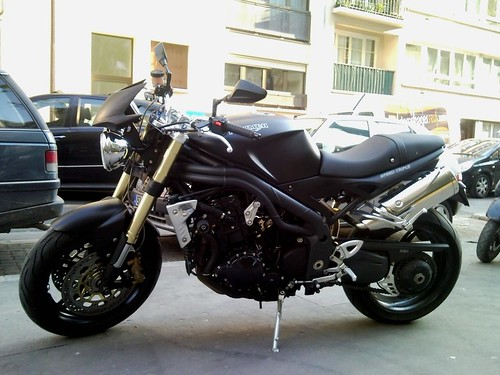 Triumph Speed Triple (WorldWideMotorcycles via Flickr)