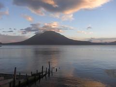 San Pedro volcano, Lake Atitlan