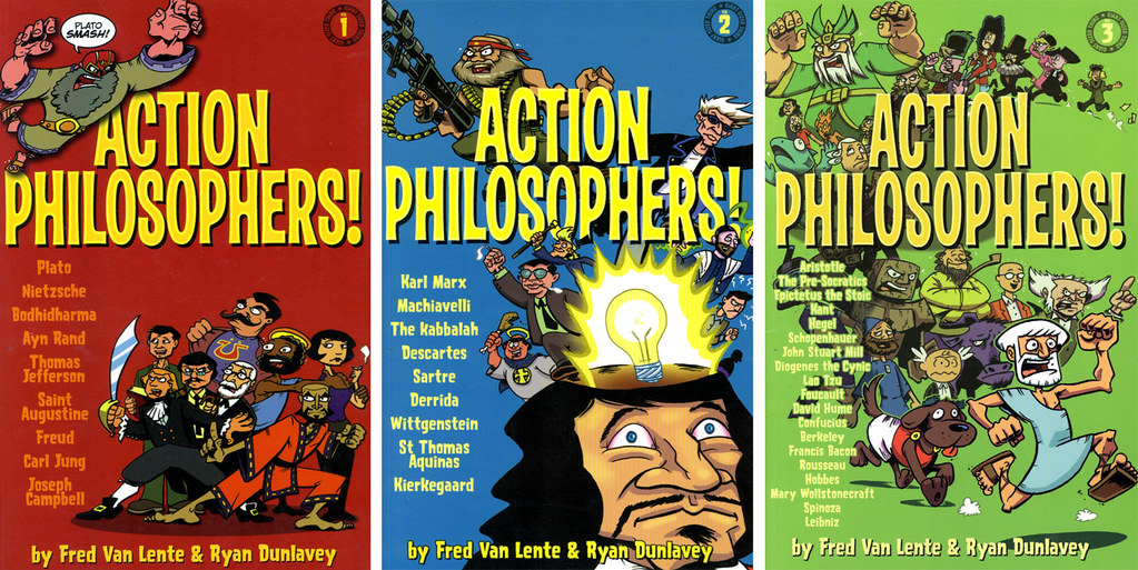 Action Philosophers covers