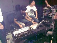 Jack and Rai. GarageBand '09 demo. 31/05/2009