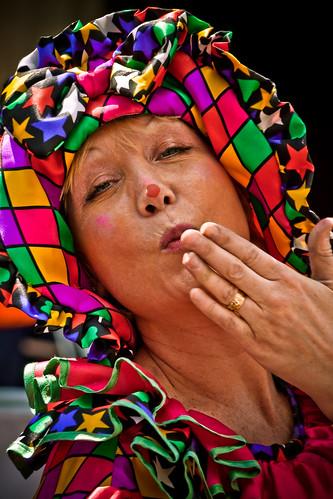 Kiss From A Clown by garryknight.