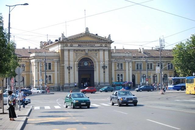 Belgrade Rail Station, Zeleznicka Stanica