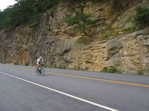 Mt. Mitchell descent