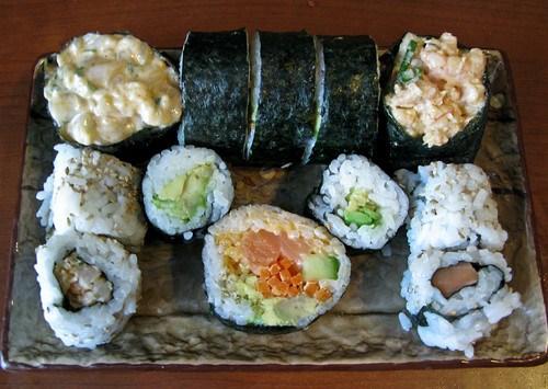 tonights sushi