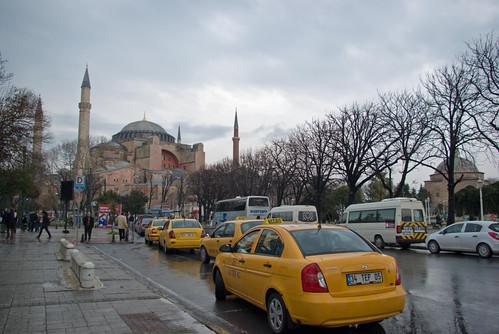 Ayasofya müzesi ve Sultanahmet meydanı, Hagia Sophia and Sultanahmet Square, İstanbul, Pentax K10d