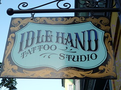 Idle Hand, installed