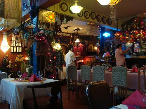 Inside Cafe Juanita