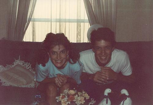 Me and David circa 1989