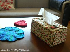 Tissue Box Cover (Living Room)