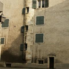 Hausfassade in der Altstadt
