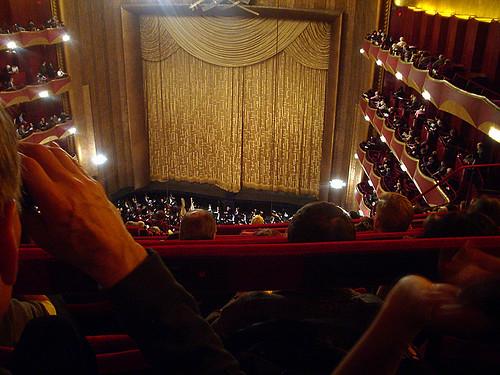Interior The Metropolitan Opera