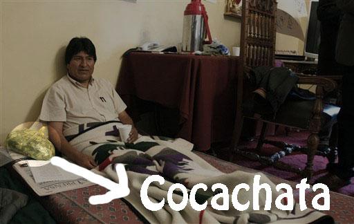 Evo y su Cocachata.
