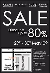Kanebo warehouse sale