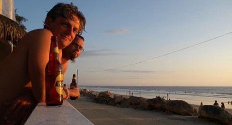 Levy and i at sun set