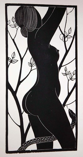 eve by eric gill