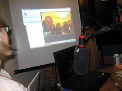 Our brummie pals in SxSW on skype