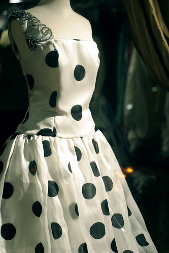 Polka dots at Harold Clarke