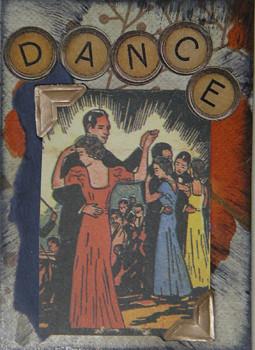dance ATC (c) 2009, Lynne Medsker