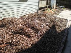 Garden as a compost pile.