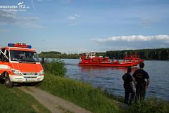 Personensuche im Rhein 19.05.09