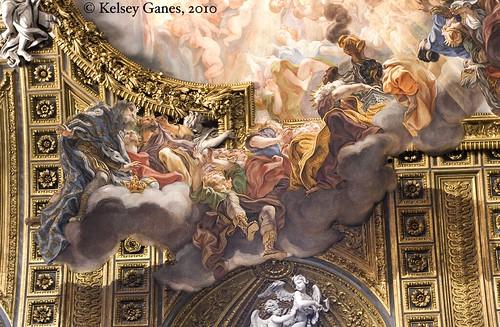 Gesù Ceiling