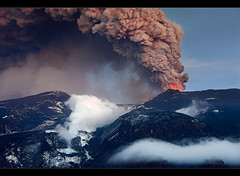 The Big Icemelter - Eyjafjallajökull Eruption by orvaratli