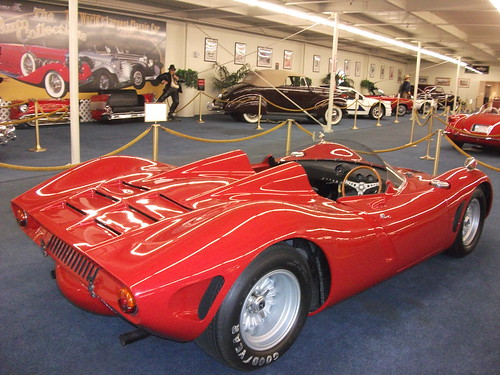 1966 Bizzarini P538 Spyder Prototype rear