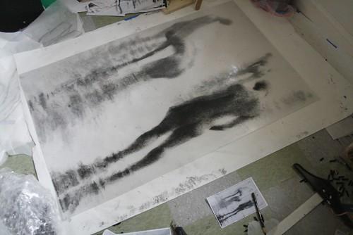 Drawing III, In Progress