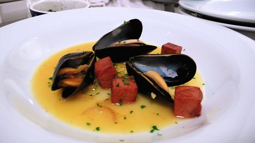 gueuze mussels