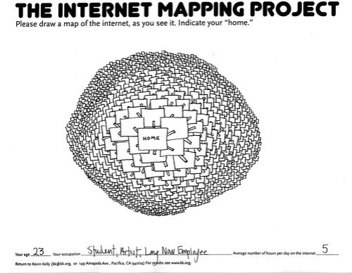 internet mapping project Internet mapping project: map gallery the internet has a diameter of about 10,000 pookies here's a layout showing the major isps following is a time series of three plots, colored by ip address in the long run, we hop.