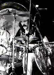 John Bonham - Led Zeppelin - photo: Dina Regine