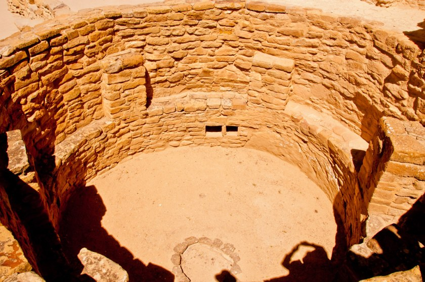 A kiva at Cliff House