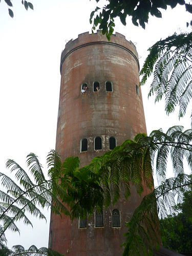The Yokahu tower in El Yunque