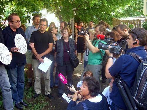 Robert Menasse: so kann man weder mit öffentlichem Eigentum, noch mit Anrainern und Bevölkerung noch mit Natur- und Denkmalschutz umgehen