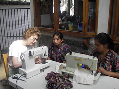 Sewing class with Jean Earl