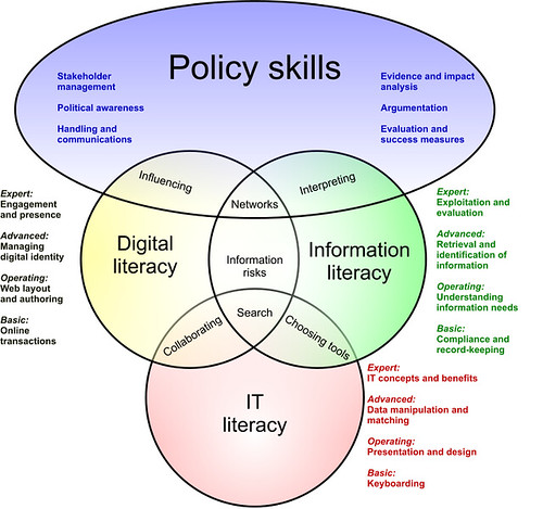 Skills and literacies in the digital age