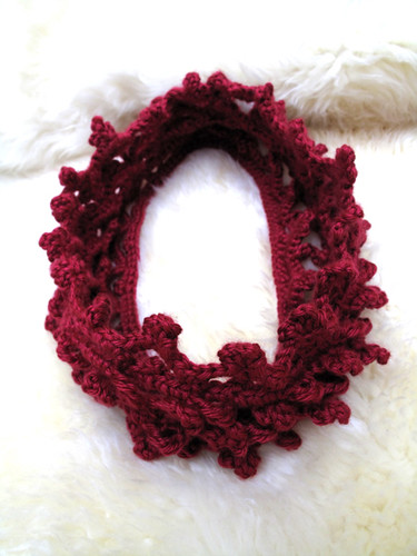Crochet Berries Scarflette