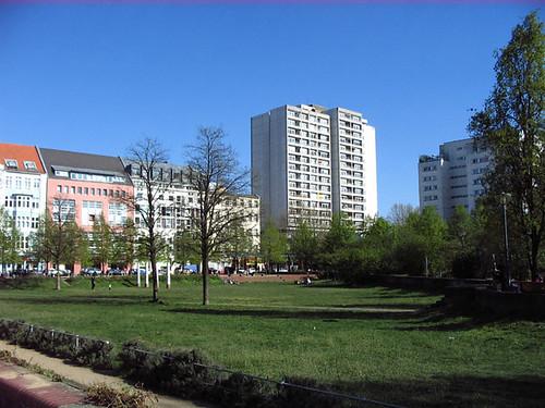 Park in Kreuzberg. Photo: Ulla Hennig