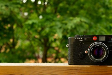 My Leica M6, now with lens!!
