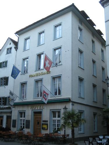Dónde dormir y alojamiento en Chur (Suiza) - Hotel Franziskaner.